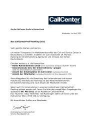 zum Download bereit - Callcenter-Profi