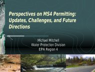 Perspectives on MS4 Permitting: Updates, Challenges, and Future ...