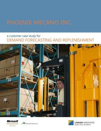 Phoenix Mecano, Inc. Case Study - Lanham Associates