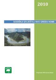 2010 Godisnji izvjestaj Green Home - NVO Green Home