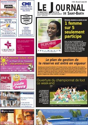 899 - Journal de Saint Barth
