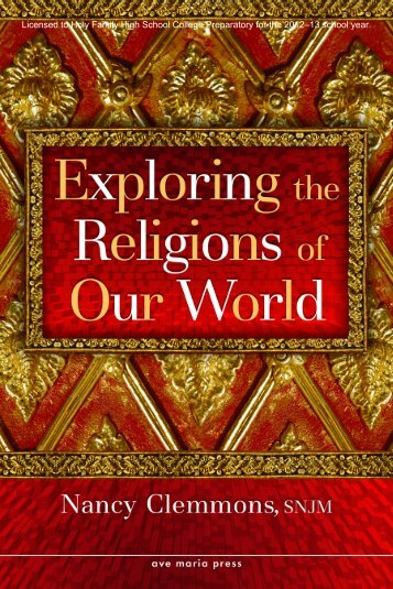 Exploring World Religions (HFHSCP12-13)