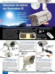 Telecamere da esterno con illuminatore IR - Futura Elettronica