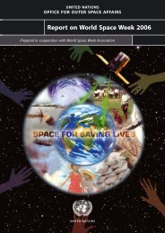 Report on World Space Week 2006
