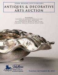 John Moran Auctioneers ANTIQUES & DECORATIVE ARTS AUCTION