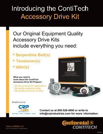 Conti Accessory Drive Kit