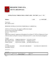 Delibera Giunta Regionale n 512 del 9 luglio 2007 - LaMMA-CRES