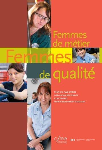 Femmes de métier - Portail de l'Ordre des conseillers en ressources ...