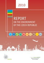Report on the Environment of the Czech Republic