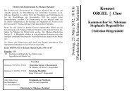 25. März 2012, ORGEL plus Chor - Seelsorgeeinheit Markdorf