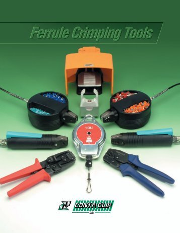 Product information Ferrule Crimping Tools - CONTA-CLIP