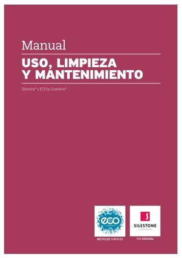 Manual de Uso Limpieza y Mantenimiento ESP.indd - Silestone