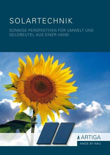 ARTIGA Solartechnik - Unionhaustechnik