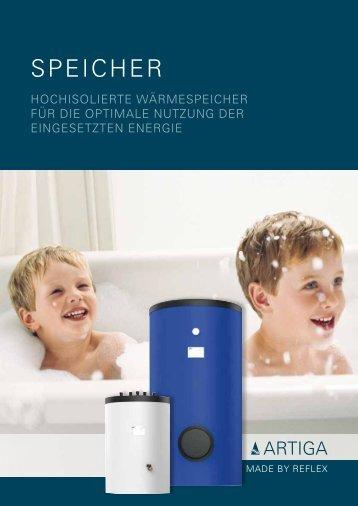 Artiga Speicher - Unionhaustechnik