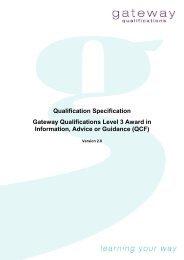 Qualification guide - OCN Eastern Region