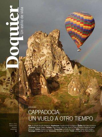 CappadoCia: un vuelo a otro tiempo - revista doquier