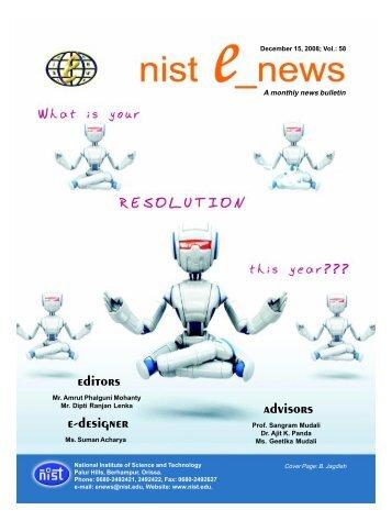 NIST e-NEWS(Vol 58, Dec 15, 2008)