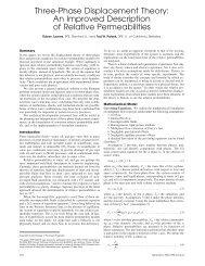 Three-Phase Displacement Theory - Tadeusz (Tad) Patzek