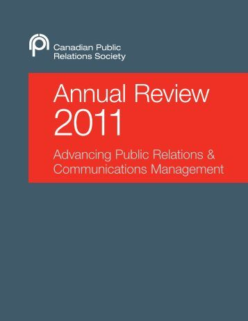 Annual Review - CPRS Calgary