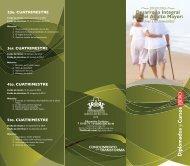 programa Desarrollo Integral para el Adulto Mayor: - Universidad ...