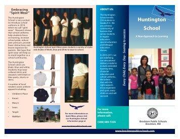Huntington School - Brockton Public Schools