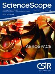 ScienceScope on Aerospace from - CSIR