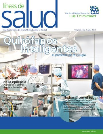 quirófanos inteligentes - Centro Médico Docente La Trinidad