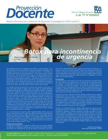 P Docente 01-2013.indd - Centro Médico Docente La Trinidad