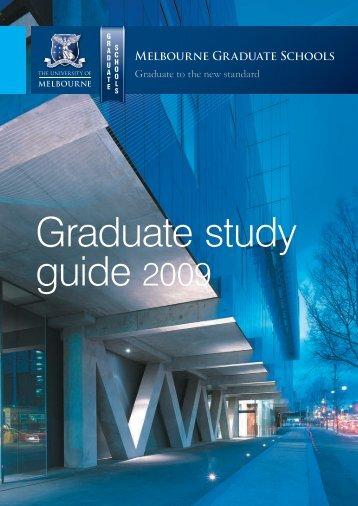 08017 MelbUni Graduate - University of Melbourne