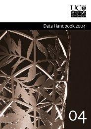Data Handbook 2004 - University of Canterbury