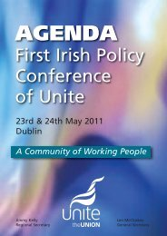 Agenda - Unite the Union