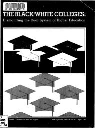 dismantling the dual system of higher education - University of ...