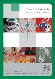Dylunio a thechnoleg: canllawiau ar gyfer ... - Learning Wales