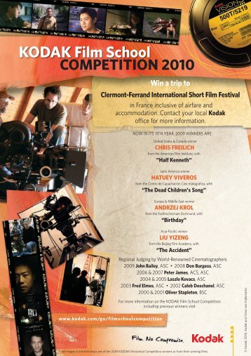HOW TO REGISTER - KODAK Cinelabs Romania