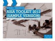 ASIA TOOLKIT 2012 (SAMPLE VERSION) - Warc