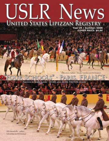 Summer 2008 - United States Lipizzan Federation
