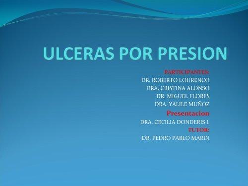 úlcera por estasis venosa versus úlcera por presión