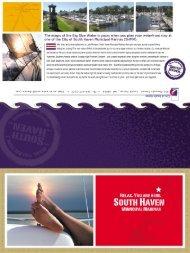 Municipal Marina Brochure - City of South Haven