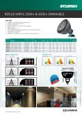 RefLeD MR16 350lm & 450lm DIMMABLe - Havells-Sylvania - Page 2