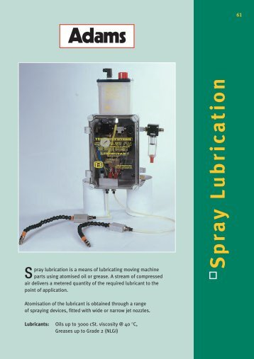 Spray Lubrication