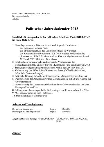 als PDF................ - DIE LINKE. Kreisverband Saale-Orla-Kreis