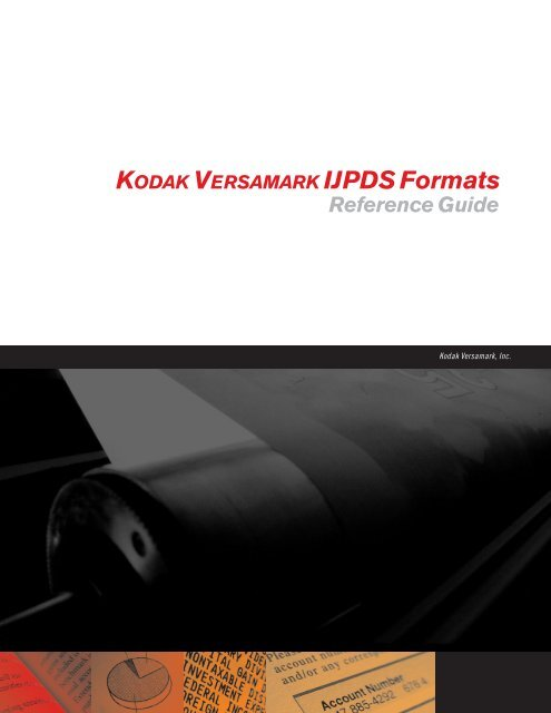 ijpds formats.book - Kodak