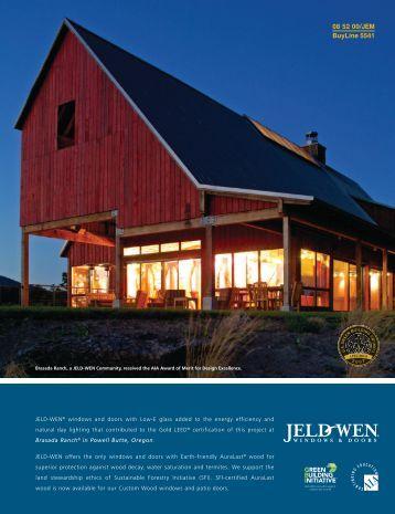 08 52 00/JEM BuyLine 5541 - Home Doors & Windows