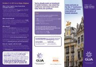 Download the GUA 2012 Europe Conference Schedule.