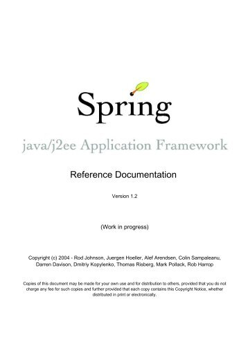Spring Core Certification 3 Mock Exam - Java & Moi