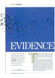 Evidence - Tarquin Hall