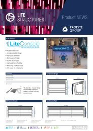 LiteConsole flyer - Prolyte Group