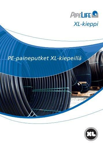 PE-paineputket XL-kiepeillä (PDF)