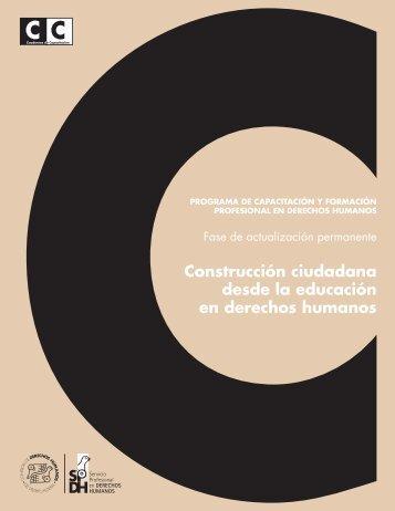 Ciudadania - Comisión de Derechos Humanos del Distrito Federal