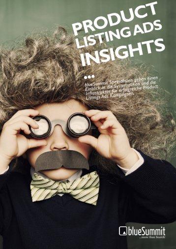 Product Listing Ads Insights - Blue Summit Media